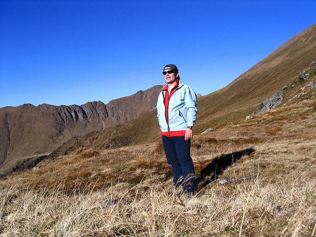 Foto: Andreas Koller / Wander Tour / Aus dem Schöttlgraben auf den Hohenwart (2363 m) / Rast am Glattjoch / 17.10.2007 02:18:04
