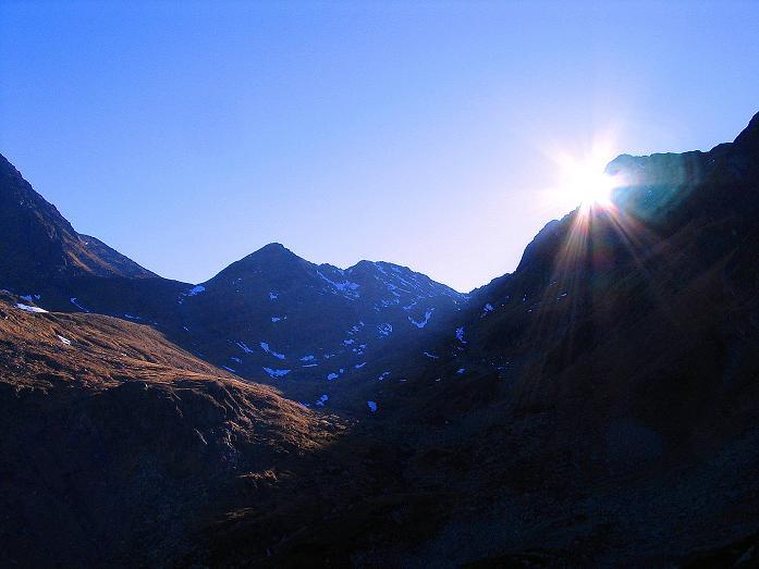 Foto: Andreas Koller / Wander Tour / Aus dem Schöttlgraben auf den Hohenwart (2363 m) / Das Kar unterhalb des Glattjoches / 17.10.2007 02:16:59
