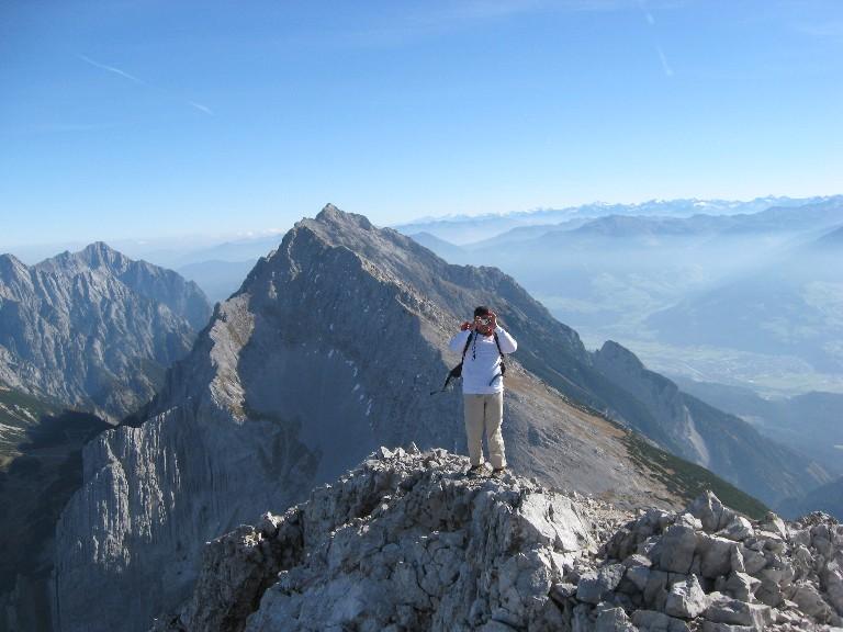 Foto: mucho / Wander Tour / Kleiner Lafatscher / Richtung ost, Speckkarspitze / 18.10.2007 09:12:06