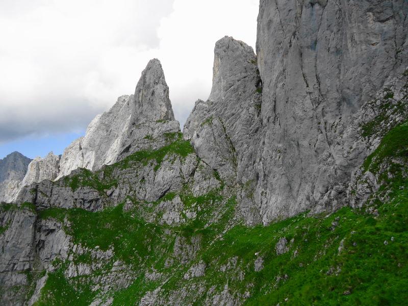 Foto: Günter Siegl / Wander Tour / Über den Gildensteig ins Kleine Törl / 10.08.2016 21:31:38