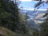 Foto: dobratsch11 / Wander Tour / Kobesnock / Auf der Schneit mit Blick hinunter in den Erlachgraben. / 23.10.2007 20:57:47