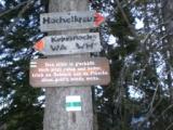 Foto: dobratsch11 / Wander Tour / Kobesnock / Bei der Weggabelung auf der Schneit. / 23.10.2007 20:56:58