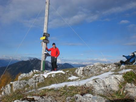 Foto: dobratsch11 / Wander Tour / Kobesnock / Am Gipfel / 23.10.2007 20:54:10