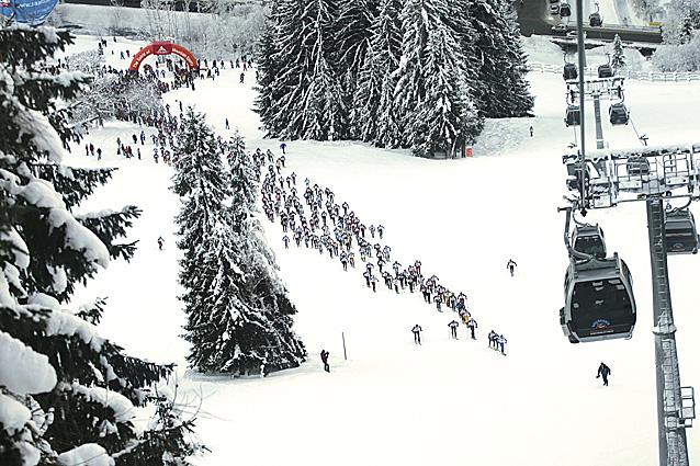 Foto: AlpinTouren.at / Ski Tour / Mountain Attack 2008 - Strecke Marathon / Fotos zur Verfügung gestellt von: werbeagentur nmc gmbh / 14.11.2007 08:05:36