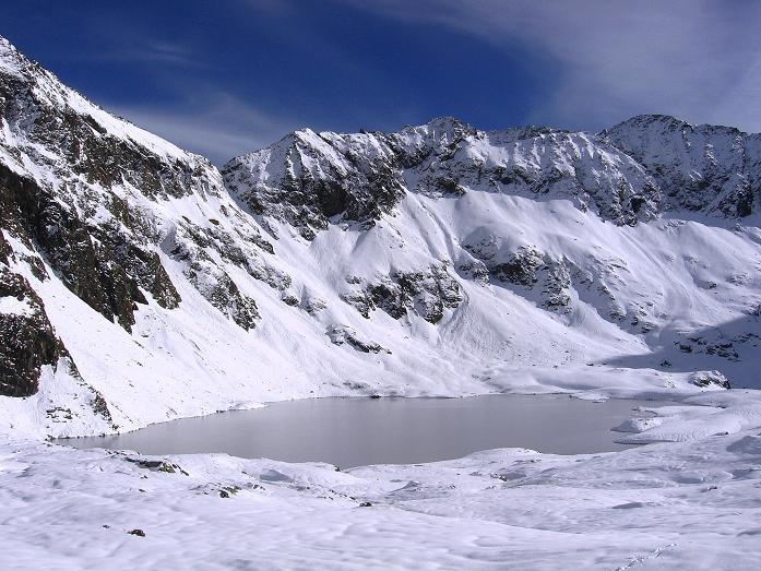 Foto: Andreas Koller / Wander Tour / Lanschitzseen und Hasenhöhe (2446 m) / Der Obere Lanschitzsee / 30.10.2007 04:39:07