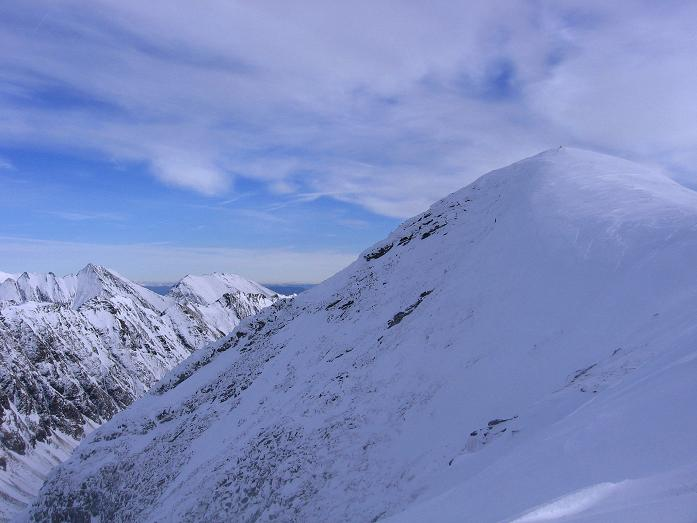 Foto: Andreas Koller / Wander Tour / Lanschitzseen und Hasenhöhe (2446 m) / Annäherung an die Hasenhöhe mit Blick nach O / 30.10.2007 04:38:51