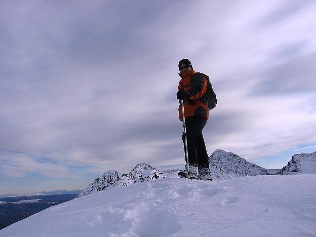 Foto: Andreas Koller / Wander Tour / Lanschitzseen und Hasenhöhe (2446 m) / Am Gipfel der Hasenhöhe / 30.10.2007 04:37:20