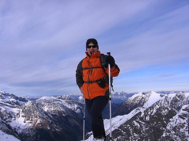 Foto: Andreas Koller / Wander Tour / Lanschitzseen und Hasenhöhe (2446 m) / Auf der Hasenhöhe / 30.10.2007 04:37:00