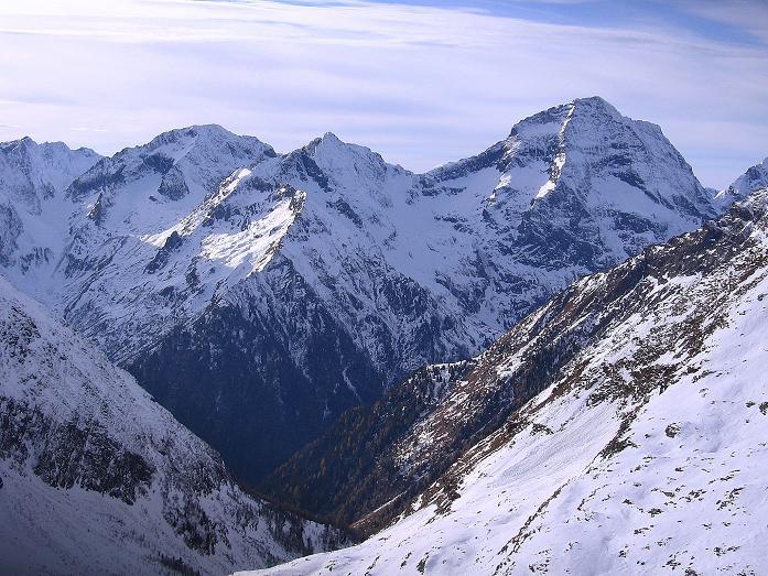 Foto: Andreas Koller / Wander Tour / Lanschitzseen und Hasenhöhe (2446 m) / Ganz nah: der Hochgolling (2863 m) / 30.10.2007 04:36:16