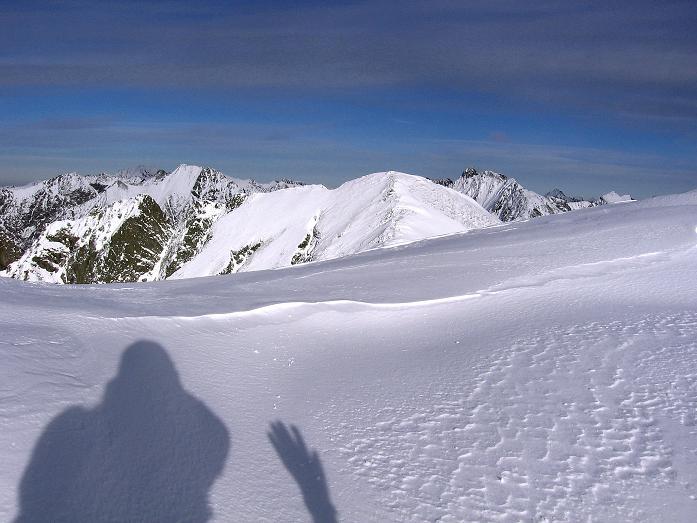 Foto: Andreas Koller / Wander Tour / Lanschitzseen und Hasenhöhe (2446 m) / Blick nach O zum Predigtstuhl (2543 m) / 30.10.2007 04:35:17