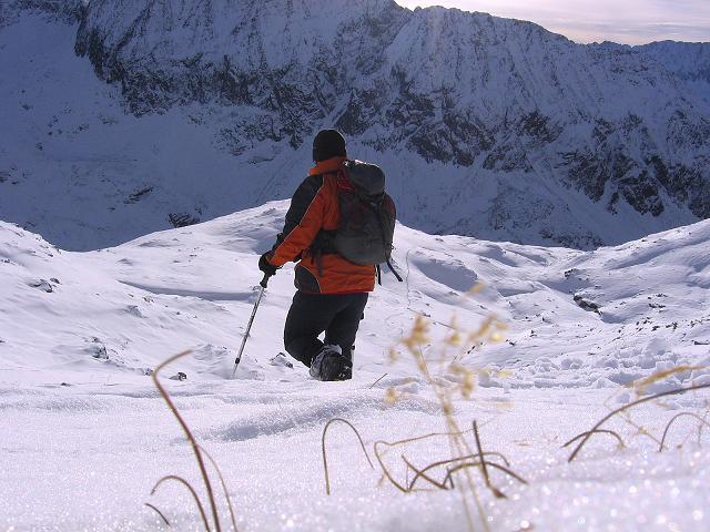 Foto: Andreas Koller / Wander Tour / Lanschitzseen und Hasenhöhe (2446 m) / Abstieg vom Grat zu den Lanschitzseen / 30.10.2007 04:33:17