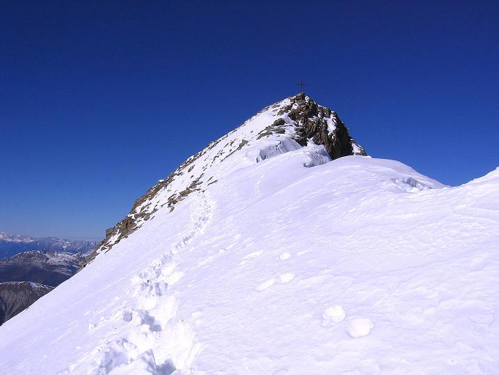Foto: Andreas Koller / Ski Tour / Tuxer Eingehtour auf zwei Dreitausender (3288 m) / Der S-Grat auf die Gefrorene Wand Spitze / 03.11.2007 22:29:56