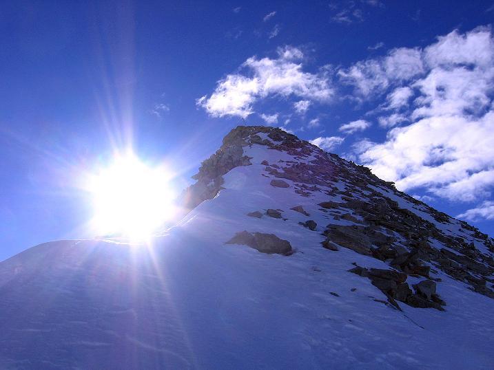 Foto: Andreas Koller / Ski Tour / Tuxer Eingehtour auf zwei Dreitausender (3288 m) / Der Kaserer N-Grat / 03.11.2007 22:24:33