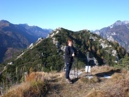 Foto: dobratsch11 / Wander Tour / Monte Nebria 1207m / 04.11.2007 20:49:02