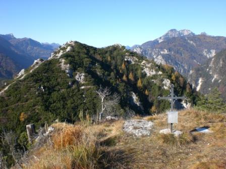 Foto: dobratsch11 / Wander Tour / Monte Nebria 1207m / 04.11.2007 20:48:50