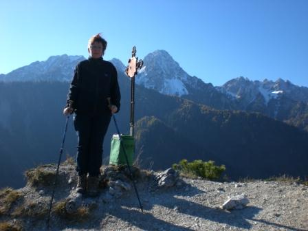 Foto: dobratsch11 / Wander Tour / Monte Nebria 1207m / 04.11.2007 20:47:03