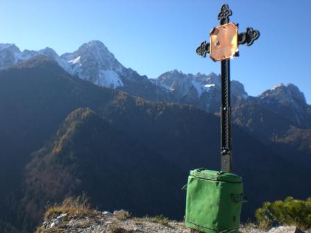 Foto: dobratsch11 / Wander Tour / Monte Nebria 1207m / 04.11.2007 20:46:23