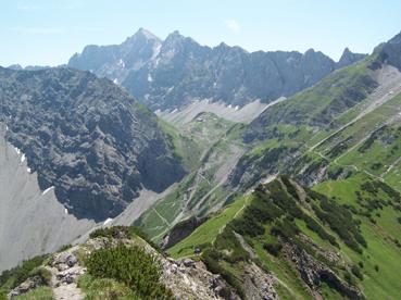 Klettergurt Für Alpintouren : Alpintouren wander tour von der gramaialm zur lamsenspitze