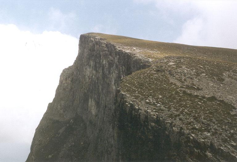 Foto: Datzberger Hans / Wander Tour / Astraka und Gamila im Timfi-Gebirge  / Gamila (2497 m) von Drachensee aus   / 08.11.2007 17:28:37