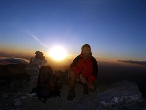 Foto: Datzi / Wander Tour / Astraka und Gamila im Timfi-Gebirge  / Biwak Am Gipfel vom Gamilia (Ein Traum Erlebnis, hier konnte ich auch ein Gewitter während der Nacht beobachten) / 13.01.2014 07:32:06