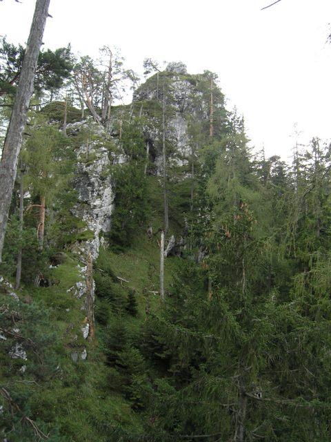 Foto: Benedik Herbert / Wander Tour / Falkenstein und Falkastoal - 2 Gipfel und 3 Seen / ein Blick zum Falkastoal / 10.11.2007 12:08:49