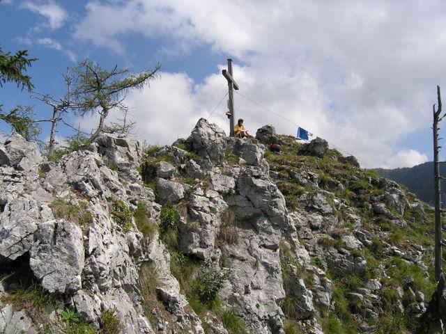 Foto: Benedik Herbert / Wander Tour / Falkenstein und Falkastoal - 2 Gipfel und 3 Seen / am Gipfel / 10.11.2007 12:10:33