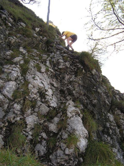 Foto: Benedik Herbert / Wander Tour / Falkenstein und Falkastoal - 2 Gipfel und 3 Seen / Abstieg Falkatoal / 10.11.2007 12:11:49