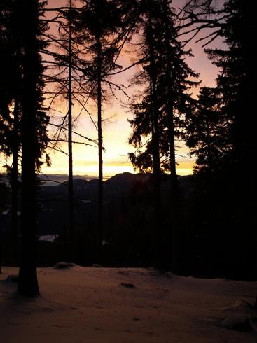 Foto: Eduard Winter / Ski Tour / Durch den Rettenbachgraben zum Waxriegelhaus / Kupferrot / 03.12.2007 20:29:52
