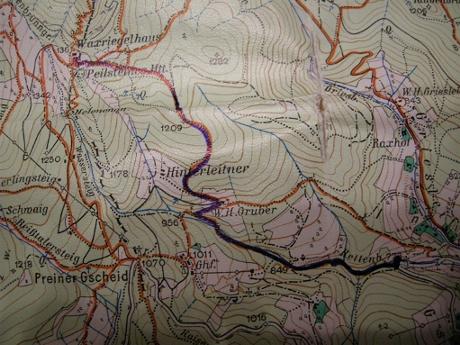Foto: Eduard Winter / Ski Tour / Durch den Rettenbachgraben zum Waxriegelhaus / Hier geht's lang / 03.12.2007 20:30:37
