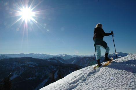 Foto: Ötschertrekker / Schneeschuh Tour / Mit Schneeschuhen auf den Ötscher / 07.12.2007 02:41:42