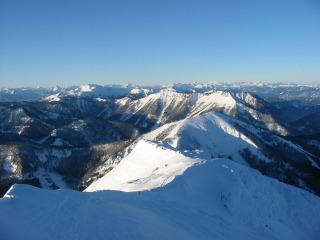 Foto: Ötschertrekker / Schneeschuh Tour / Mit Schneeschuhen auf den Ötscher / 07.12.2007 02:42:15