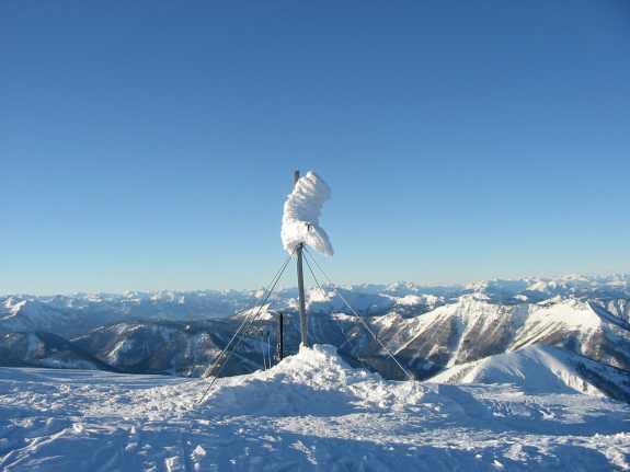 Foto: Ötschertrekker / Schneeschuh Tour / Mit Schneeschuhen auf den Ötscher / 07.12.2007 02:44:05