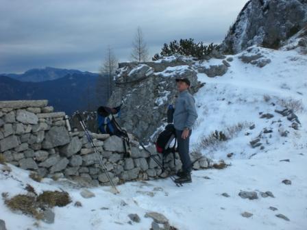 Foto: dobratsch11 / Wander Tour / Due Pizzi (Zweispitz) 2048m / bei der Forchia di Cjanalot / 10.12.2007 12:22:20