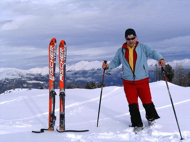 Foto: Andreas Koller / Ski Tour / Kreischberger Kammtour (2172m) / Am Kreischberg mit den Wölzer Tauern im Hintergrund / 11.12.2007 03:18:45