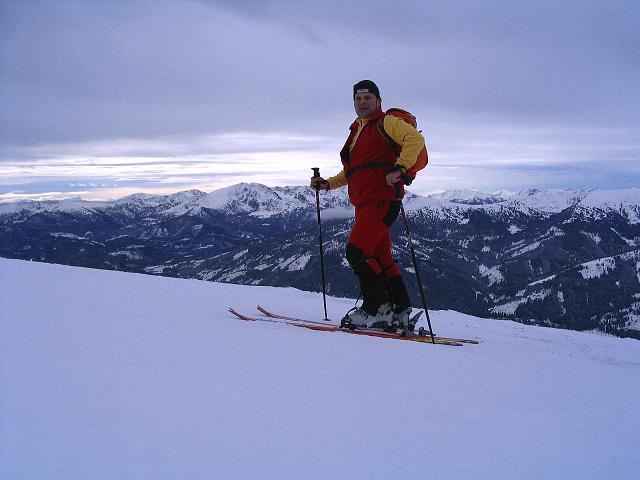 Foto: Andreas Koller / Ski Tour / Kreischberger Kammtour (2172m) / Am Goldachnock / 11.12.2007 03:12:36