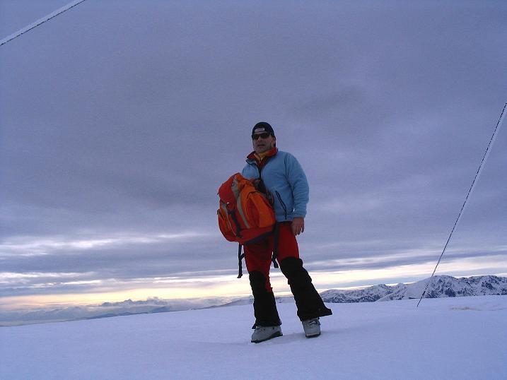 Foto: Andreas Koller / Ski Tour / Kreischberger Kammtour (2172m) / Auf der Prankerhöhe / 11.12.2007 03:09:15