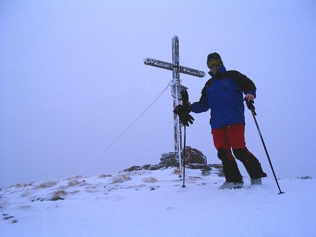 Foto: Andreas Koller / Ski Tour / Kreischberger Kammtour (2172m) / Vorbereitung für die Abfahrt vom Kirbisch / 11.12.2007 03:08:19