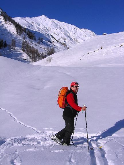Foto: Andreas Koller / Ski Tour / Geheimtipp Zanderstal und Hinteres Kreuzjoch (2853m) / Im Zanderstal / 18.12.2007 22:06:53