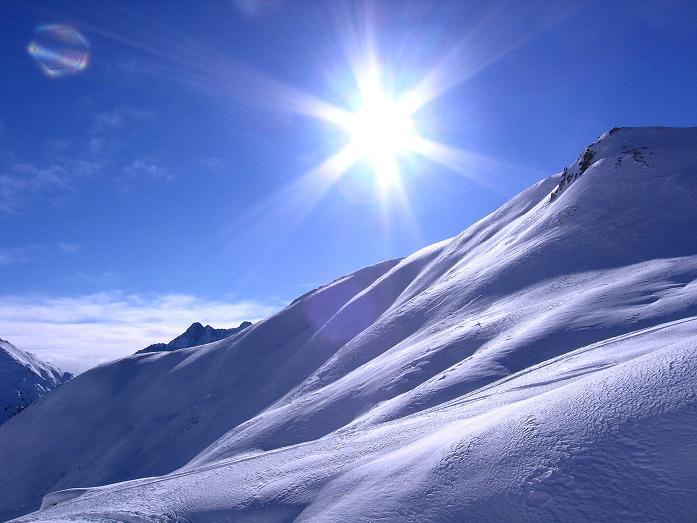 Foto: Andreas Koller / Ski Tour / Geheimtipp Zanderstal und Hinteres Kreuzjoch (2853m) / Sonne und Pulverschnee im Zanderstal / 18.12.2007 22:02:36