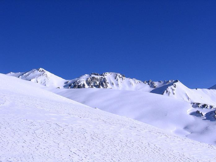 Foto: Andreas Koller / Ski Tour / Geheimtipp Zanderstal und Hinteres Kreuzjoch (2853m) / Die weiten Flächen des oberen Zanderstales / 18.12.2007 22:00:22