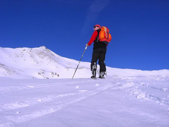 Foto: Andreas Koller / Ski Tour / Geheimtipp Zanderstal und Hinteres Kreuzjoch (2853m) / Dem Hinteren Kreuzjoch entgegen / 18.12.2007 21:56:46