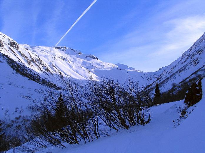Foto: Andreas Koller / Ski Tour / Durch das Weißenbachtal auf den Kreuzkogel (2686m) / Das Weißenbachtal / 24.12.2007 05:09:04