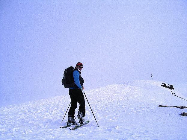Foto: Andreas Koller / Ski Tour / Durch das Weißenbachtal auf den Kreuzkogel (2686m) / Die letzten Meter zum Gipfel / 24.12.2007 05:03:32
