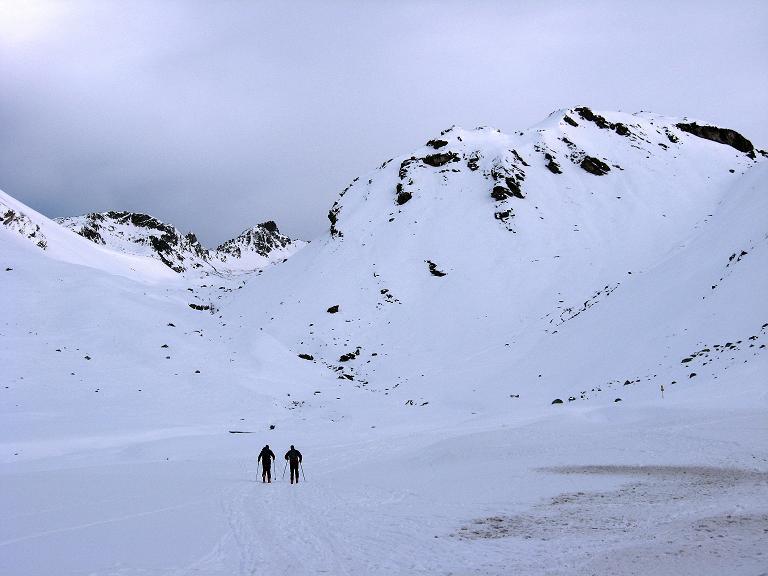 Foto: Andreas Koller / Ski Tour / Piz Surgonda (3197m) - Traumtour über dem Julierpass / Ausgangspunkt Julierpassstraße bzw. Julier Hospiz / 27.12.2007 21:10:11