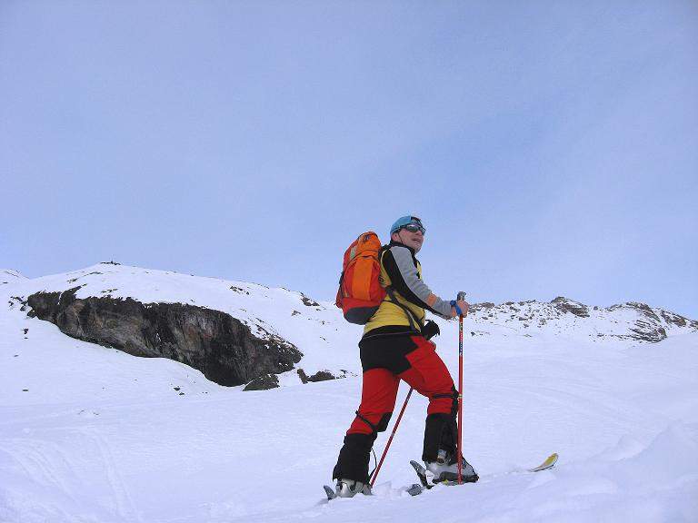 Foto: Andreas Koller / Ski Tour / Piz Surgonda (3197m) - Traumtour über dem Julierpass / Mehr schauen als gehen über dem Julierpass / 27.12.2007 21:08:46