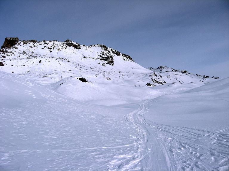 Foto: Andreas Koller / Ski Tour / Piz Surgonda (3197m) - Traumtour über dem Julierpass / Weite Flächen über dem Julierpass / 27.12.2007 21:08:24