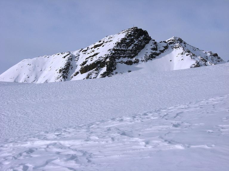 Foto: Andreas Koller / Ski Tour / Piz Surgonda (3197m) - Traumtour über dem Julierpass / Der Piz Bardella (2839 m) lugt hervor / 27.12.2007 21:08:02