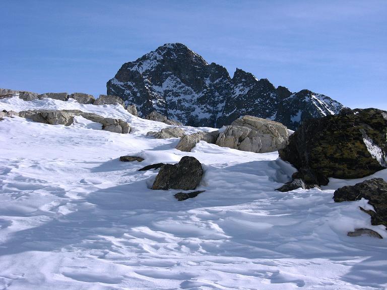 Foto: Andreas Koller / Ski Tour / Piz Surgonda (3197m) - Traumtour über dem Julierpass / Der Piz Julier = Piz Güglia (3380 m)  / 27.12.2007 21:02:03
