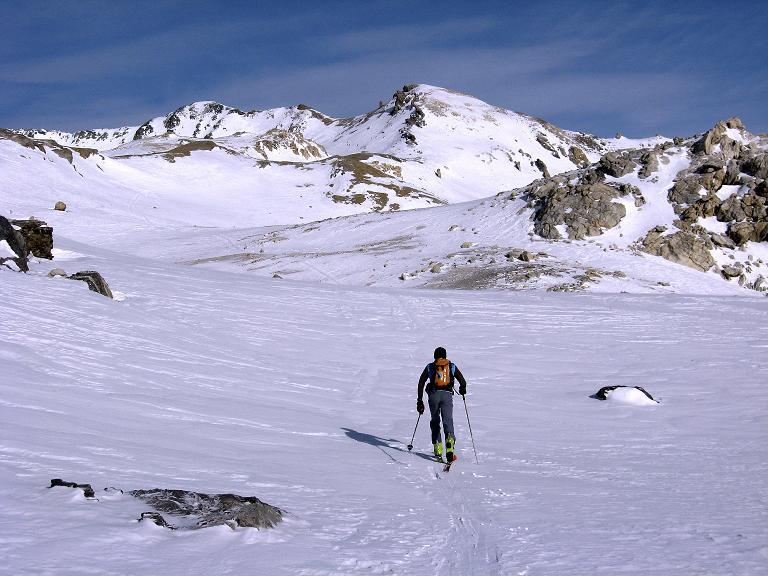 Foto: Andreas Koller / Ski Tour / Piz Surgonda (3197m) - Traumtour über dem Julierpass / Im
