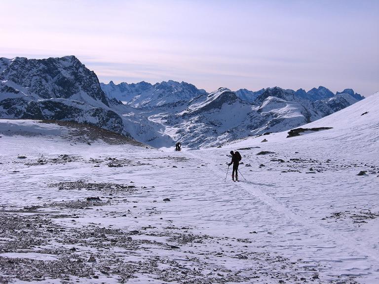 Foto: Andreas Koller / Ski Tour / Piz Surgonda (3197m) - Traumtour über dem Julierpass / Bei den Mulden des